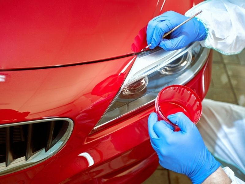 car tinting defects